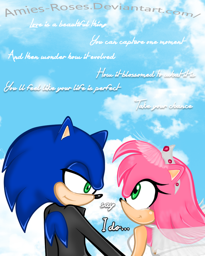 Sonic X Amy (Sonamy) - True Love, Hits You Once. by ...  Sonic X Amy (So...