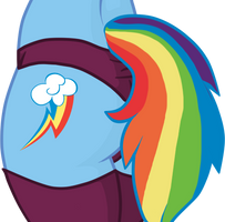 Flank Collection: Rainbow Dash. by icefatal