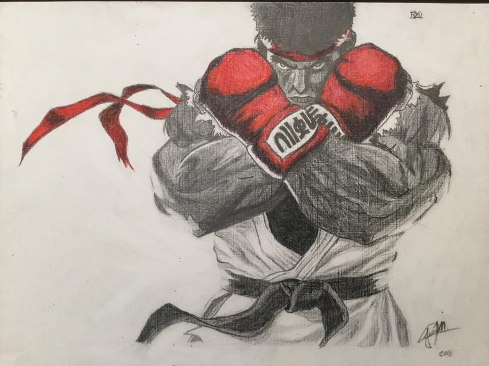 Ryu street fighter V by Rioma05