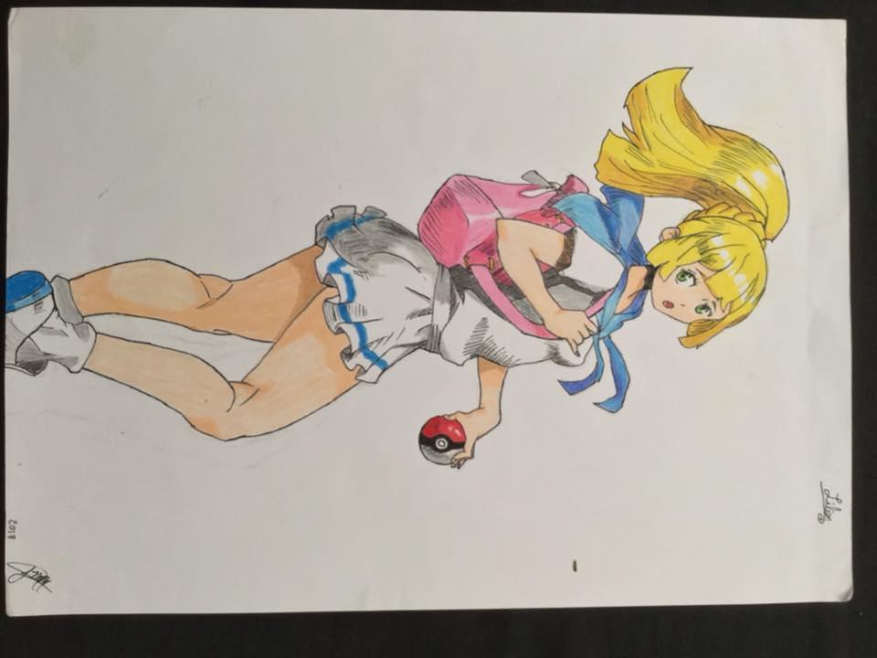 Lilian pokemon moon by Rioma05