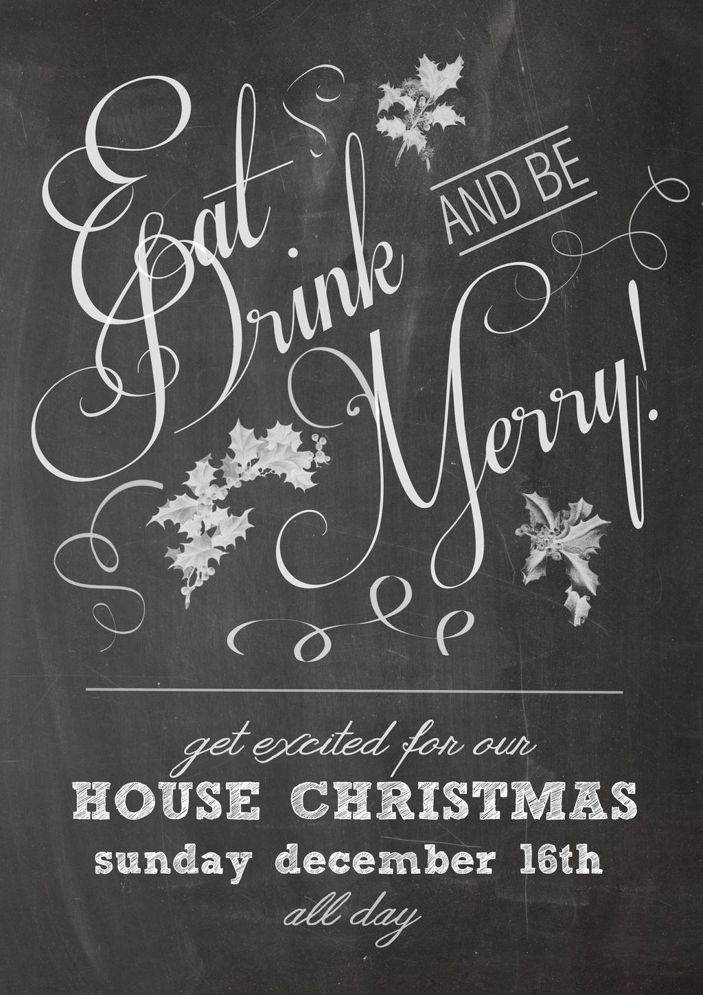 house christmas party poster by sowhitehead on house christmas party poster by sowhitehead house christmas party poster by sowhitehead