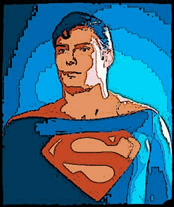 Christopher Reeve as Superman Pop Art by hordoc2