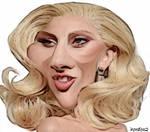 Lady Gaga Caricature 1