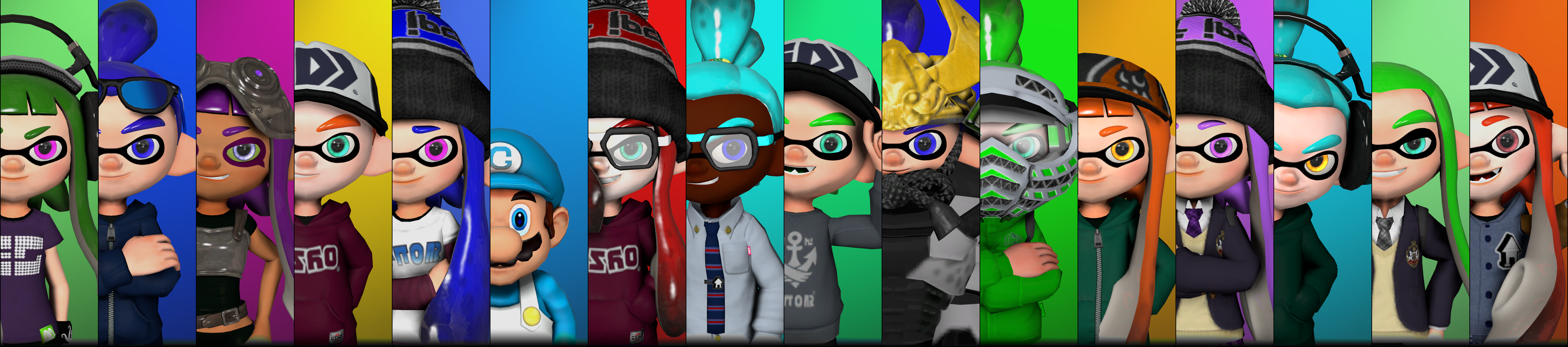 Faces Of Splatoon By Poool157 On Deviantart