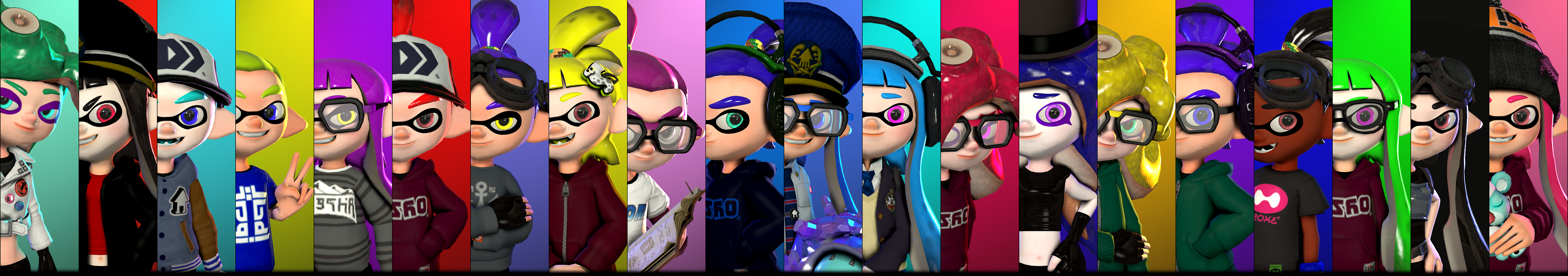 Faces Of Splatoon 2 By Poool157 On Deviantart