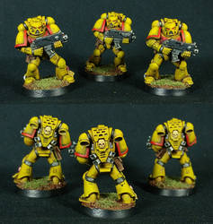 Imperial Fists (Games Workshop/Speed Paint) by Othikent