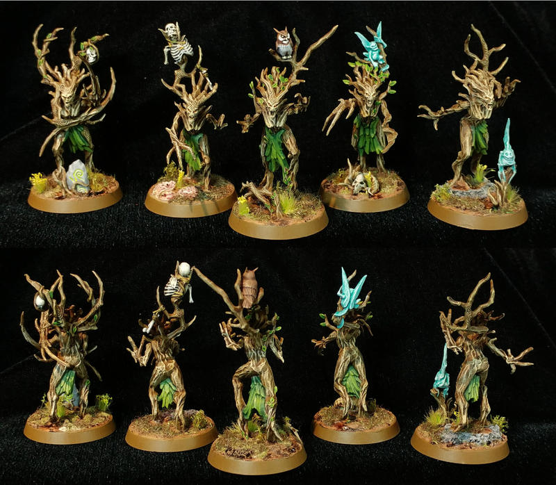 Dryads (Games Workshop/Speed paint) by Othikent on DeviantArt