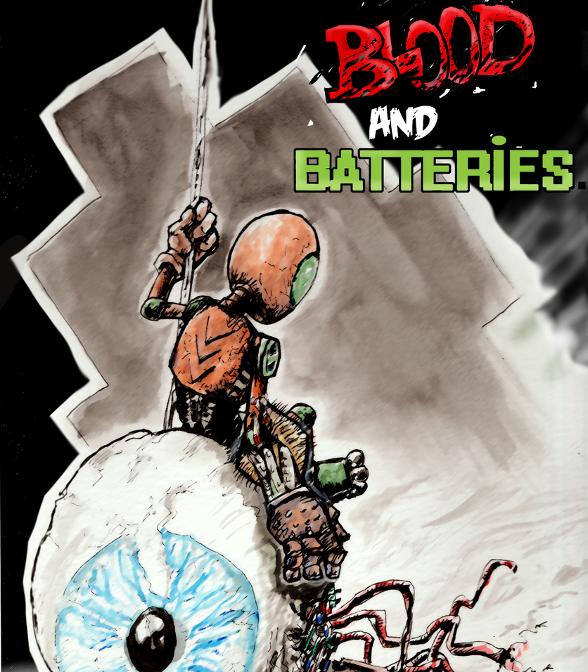 Blood and Battery Cover 2017 by pigmanga