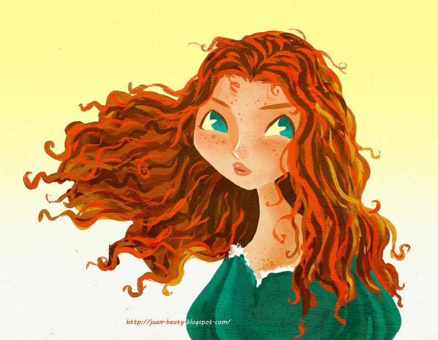 Merida Brave by juanbauty