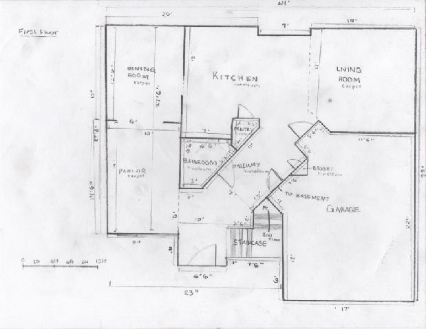 Nice Floor Plan Of My House By Squeemishness ...