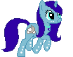 Misty Moon - Pixel by Squeemishness