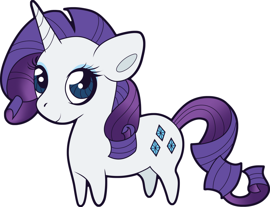 Chibi Rarity by Squeemishness on DeviantArt