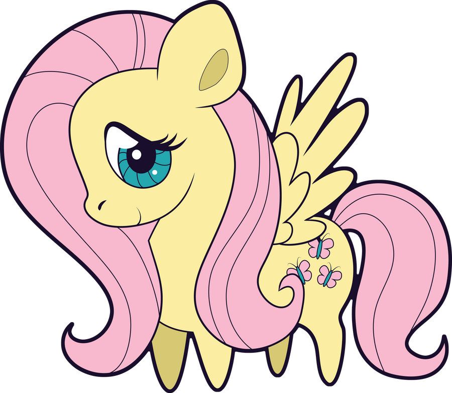 Chibi Fluttershy by Squeemishness on DeviantArt