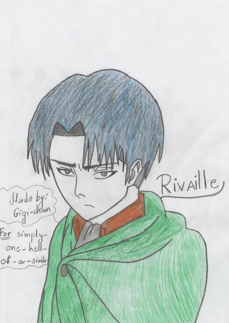 Rivaille by mimimigigigi
