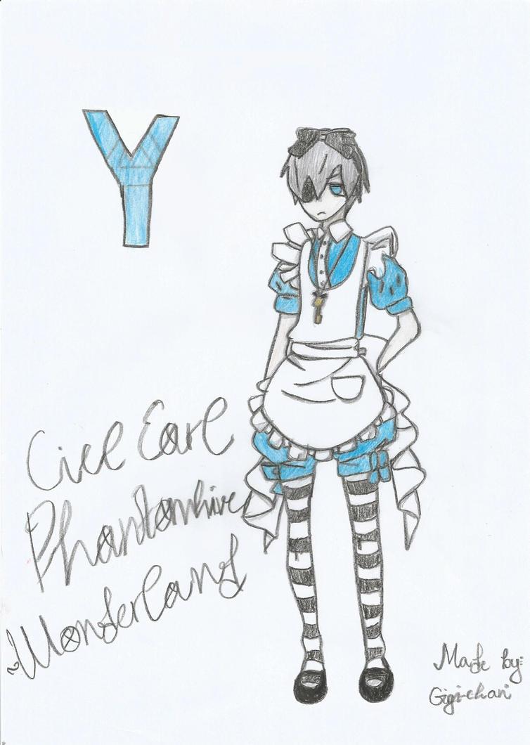 Ciel Earl Phantomhive - Wonderland Version by mimimigigigi
