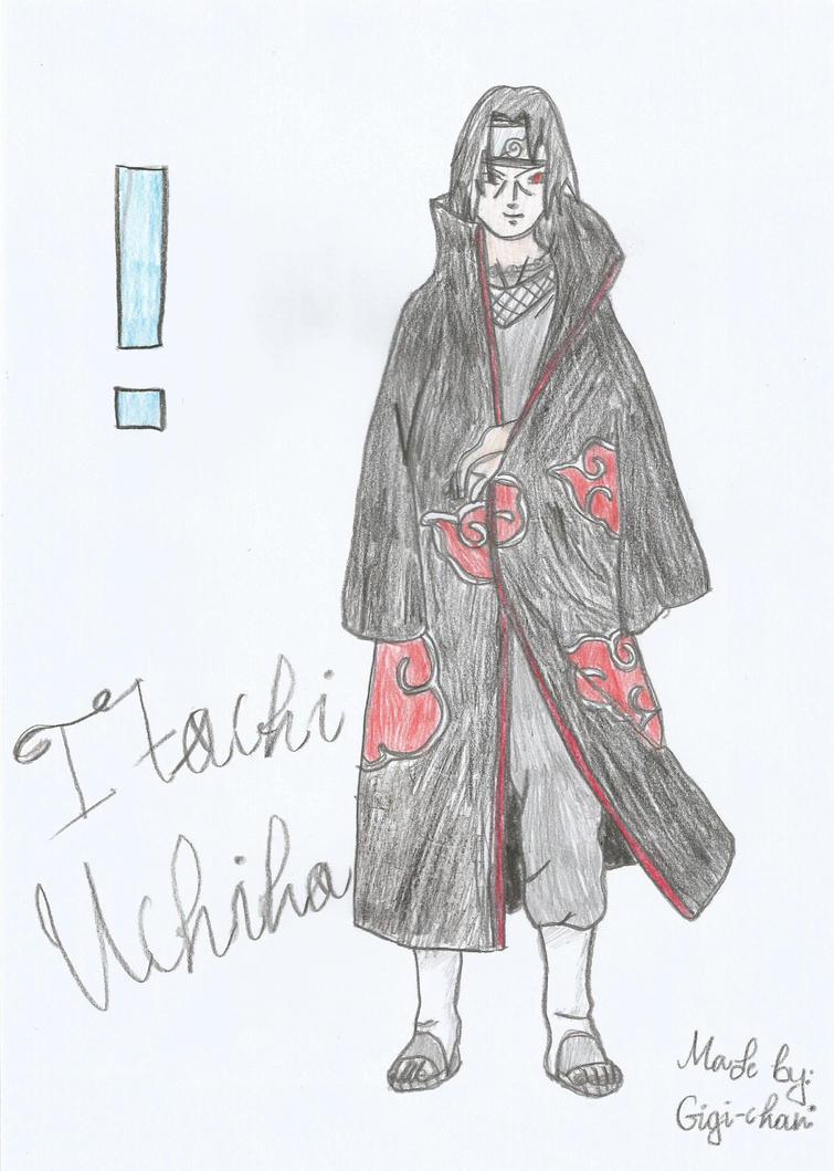 Uchiha Itachi by mimimigigigi