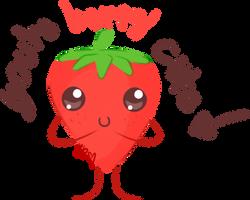 Motivational Strawberry