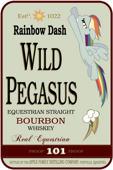 Wild Pegasus Whiskey Label