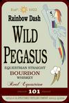 Wild Pegasus Whiskey Label