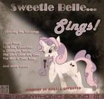 Sweetie Belle Sings - Album Cover