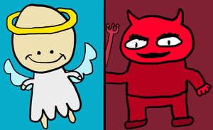Angelman and Demon 'Damn' Daniel