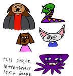 Animal Character Design Doodles