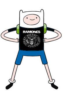 Adventure time RAMONES