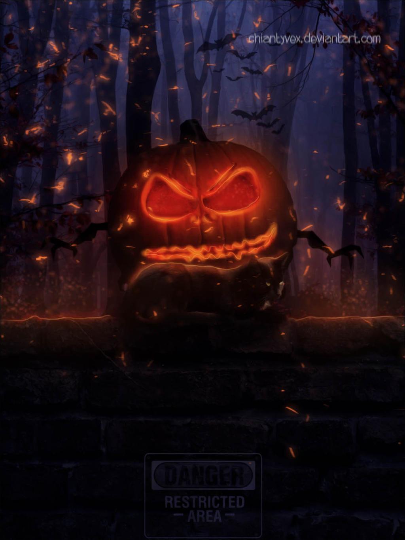 Halloween Trouble by ChiantyVex