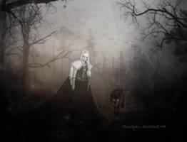 Princess of wolves BW