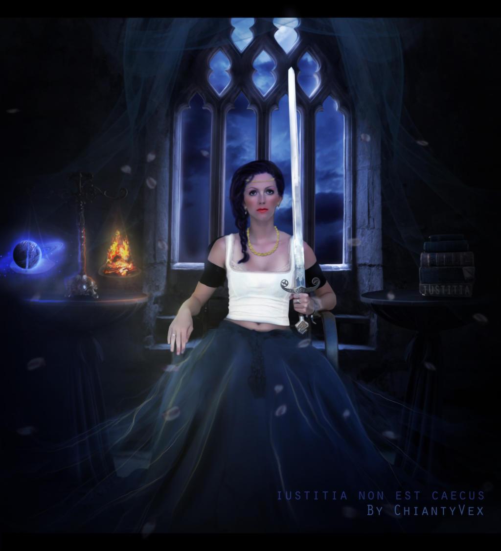 IUSTITIA Non Est CAECUS by ChiantyVex