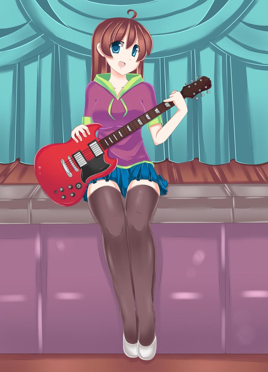 guitar by TheNever