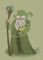 Radagast the Brown by Shiba-Inuuu