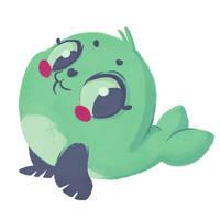 Oh hi, I'm a seal. by Shiba-Inuuu