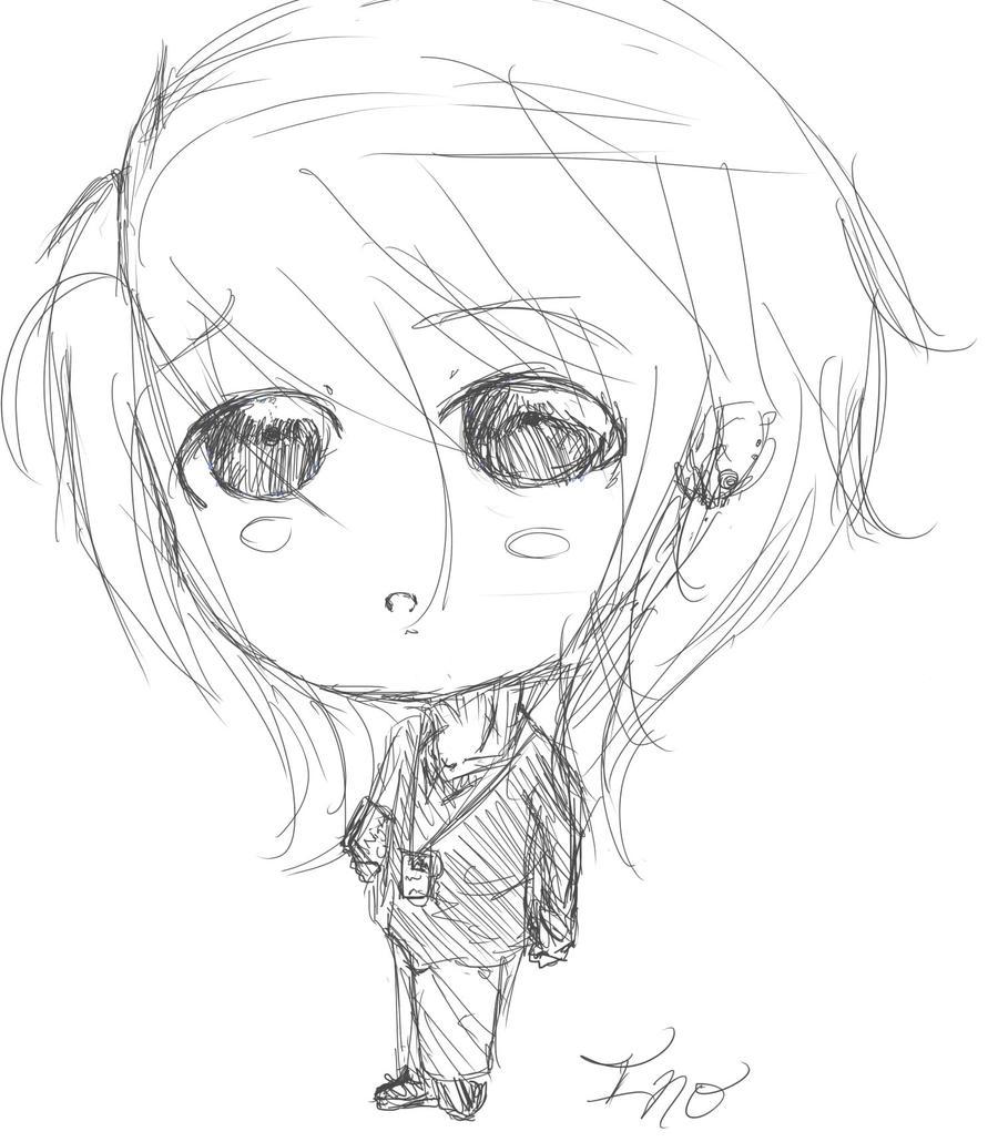 OC Sketch Ino Chibi Rough Sketch By BlightfulBliss On DeviantArt