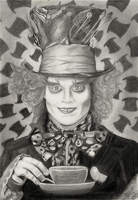 Mad Hatter Chapeleiro Maluco By Franchesco0 On Deviantart