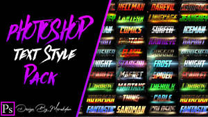 Photoshop Text Styles Pack Free Download