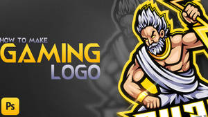 How To Make A Gaming Logo | Photoshop Tutorial