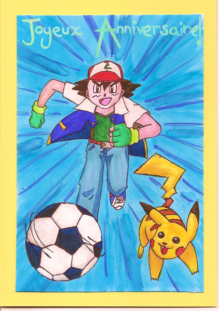 pokemon birthday card by hbfrenchie on deviantart, Birthday card