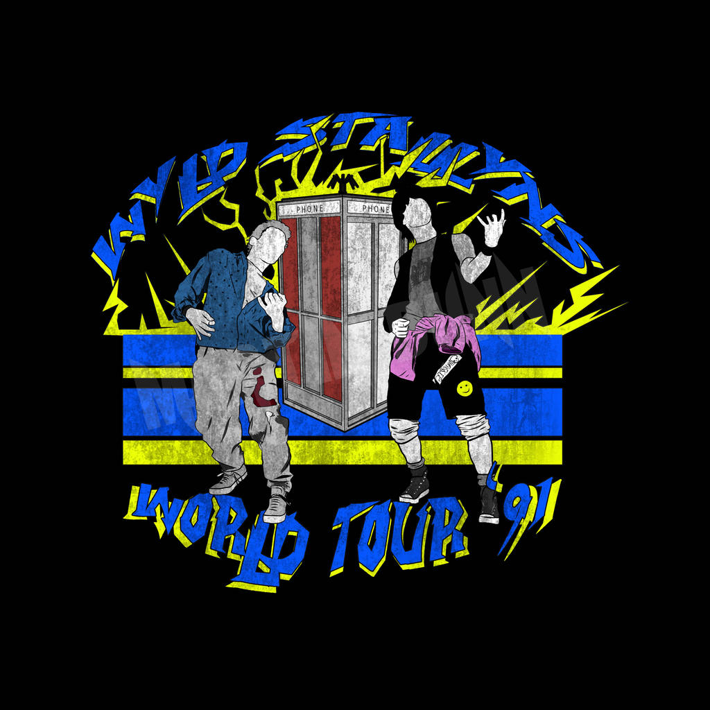 Bill And Ted World Tour T Shirt
