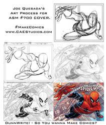 Joe Quesada Art Process by MartinDunn