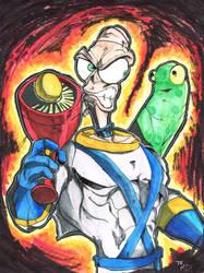 Earthworm Jim - Colors by MartinDunn