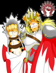 My Army. My Aggression. My Guild. Boros by The-Hedgehog-Shadow