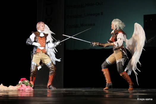 Linneage II: Kamaels in combat