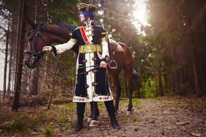 Radu and horse by ErikDesler