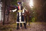 Radu and horse