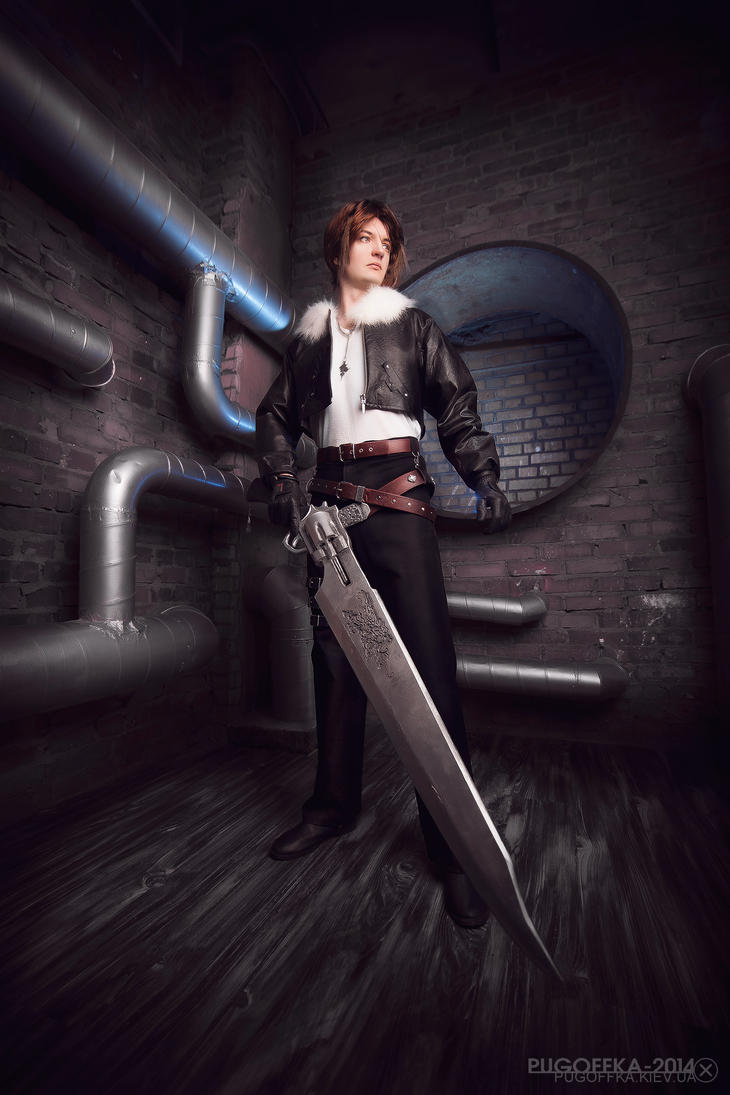 FFVIII: Squall Leonheart by ErikDesler