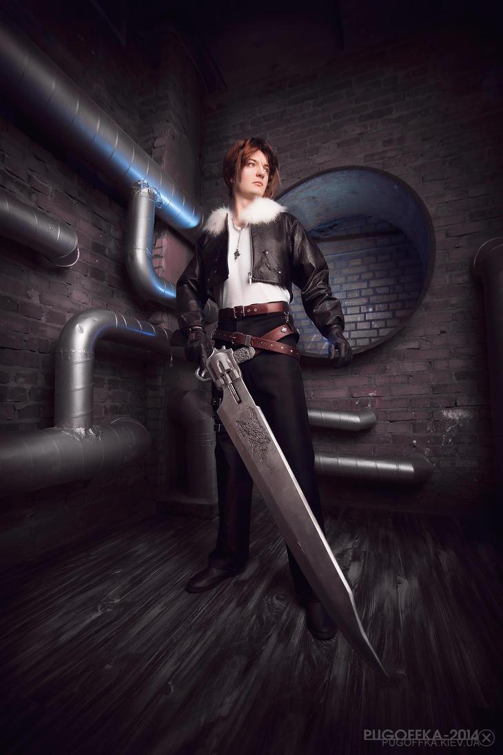 FFVIII: Squall Leonheart by ErikDesler