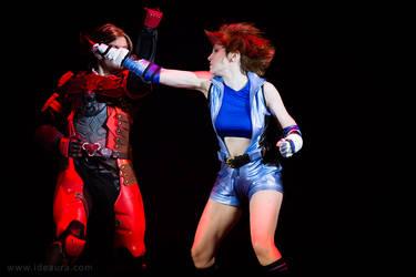 Tekken 6 on stage: Block