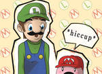 Kirbio and Luigi