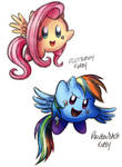 Fluttershy and RD Kirbies